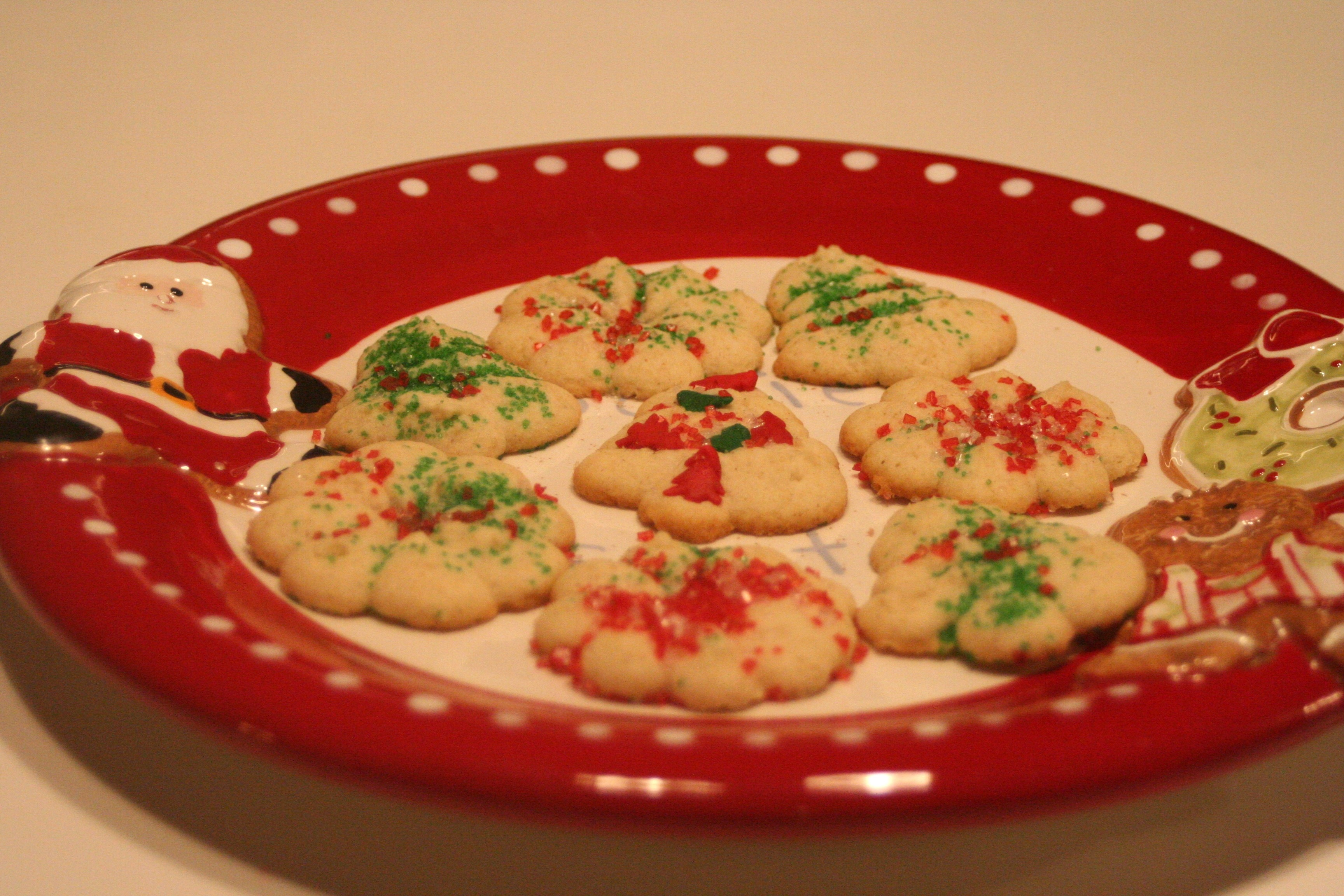 Cookie A Day Day 5 Spritz Cookies Gluten Free Is Life